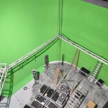 Green screen 9m high